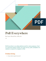 poll everywhere hand out