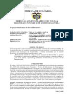 73001-23-33-002-2019-00107-00 Consulta popular minero energética - Municipio de  Roncesvalles - Declara inconstitucional trámite de Consulta