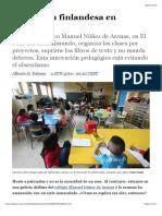 Educación finlandesa en Vallecas