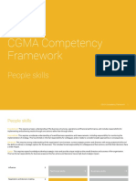 Cgma Competency Framework People