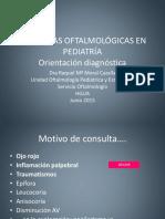 Urgencias Oftalmológicas en Pediatría Versión Web