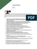 35 Pertanyaan Wawancara