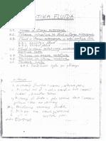 Mehanika fluida - 003 STATIKA FLUIDA - Skripta u rukopisu - Prof. Dr Petar Vukoslavčević