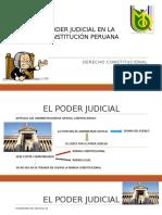 Poder Judicial en La Constitución Peruana