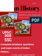 Indian History - Events and Timeline