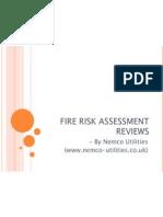 Fire Risk Assessment Reviews
