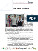 Carta de Barrios Educadores