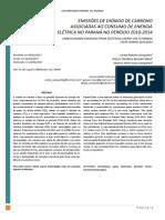 EMISSÕES DE DIÓXIDO DE CARBONO ASSOCIADAS AO CONSUMO DE ENERGIA