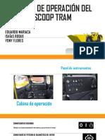 Cabina de Operación Del Scoop Tram