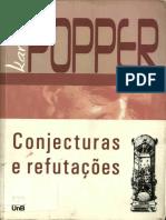 Karl Popper-Conjecturas e Refutações-Editora UNB (2008)