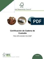 FSC-STD-40-004 V3-0 ES Certificacion de Cadena de Custodia