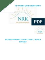 Company Profile NRK HR Recruitment LLC