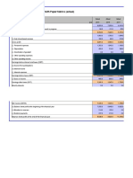 Voith DCF Excel File