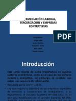Intermediacion Laboral%2c Tercerizacion y Empresas Contratistas