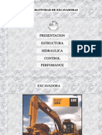 Curso Operatividad Excavadoras Estructura Hidraulica Control Performance Seleccion Medidas Volumen Ciclo Trabajo