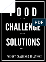 Food Challenge Solution - Plan Your Meals.