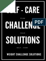 SELF CARE Challenge Solution