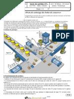 Devoir de Synthèse N°1 - Technologie - Poste automatique de sertissage - 1ère AS (2017-2018) Mr Zouhaier Rihane et Lazhar Jmeail