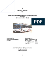 Analysis of Transportation (BUS)
