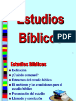 Cómo Dar Estudio Bíblicos - PowerPoint