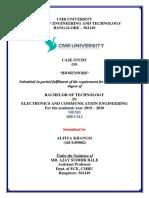 Mems Case Study on Biosensors PDF