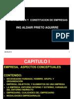 Unidad #1 y 2 Aspectos Conceptuales de Empresa, Promocvion Empresarial GERENCIA 1