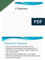 Thévenin_'s Theorem