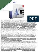 Adobe After Effects CS5 [Mac]