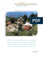 Informe Técnico Diseño Didráulico
