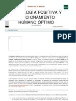 PP Funcionamiento Humano Óptimo