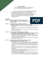 Resume 2010 June