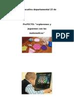 Proyecto de Aula Ãrea de Matemãticas-2019