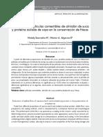 Conservacion de Mora de Castilla Mediante La Aplicacion de Un Recubrimiento Comestiblede Gel de Mucilago de Penca de Sabila