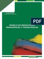 Modelo de Mediaciones Pedagogicas y Tecnologicas