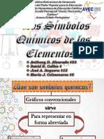 -Simbología Química de Los Elementos