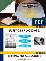 Sujetos Procesales Derecho Procesal i