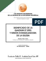 enciclica gaudium espes