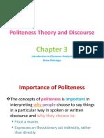Politness theory