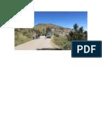 Lachaqui Lugar La Gruta y Al Fondo El Cerro Cullpe