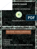 STATISTIK DASAR-3
