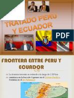 Tratado Peru y Ecuador