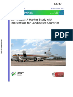 Air Freight- Market Study