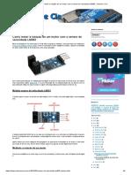 Como Medir a Rotação de Um Motor Com o Sensor de Velocidade LM393 - Arduino e CIA