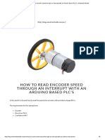 How to Read Encoder Speed Through an Interrupt With an Arduino Based PLC's _ Industrial Shields