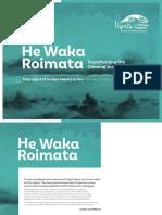 Te Uepū - He Waka Roimata Report