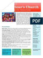 st saviours newsletter - 9 june 2019 - pentecost