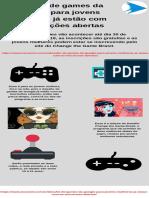 Desafio de games da Google para jovens mulheres já estão com as inscrições abertas