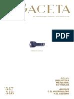 Bibliotecas Hoy. La Gacetadel FCE 547-548. Julio-Agosto 2016 (Vol. 1)