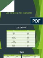 Los Colores, Los Números