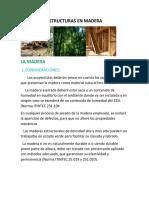 Estructuras en Madera.
